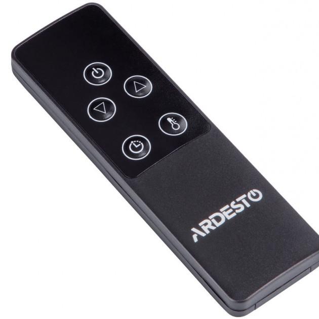 На фото: Карбоновий обігрівач Ardesto на стійці (IH-2000-CBN2B_IH-TS-01), Вуличні обігрівачі Ardesto, каталог, ціна