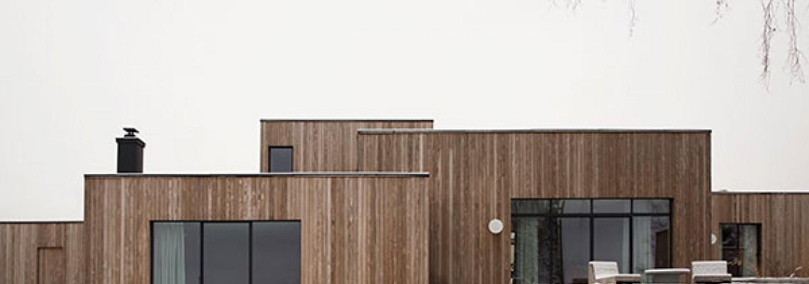 Будинок Гьйовик(Gjøvik) в скандинавскому стилі