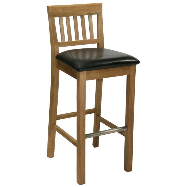 На фото: Барний стілець Laura (19963), Барні стільці і столи Home4You, каталог, ціна