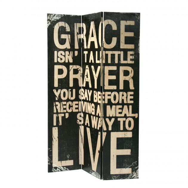 На фото: Ширма Grace (70071), Ширми і дзеркала Home4You, каталог, ціна