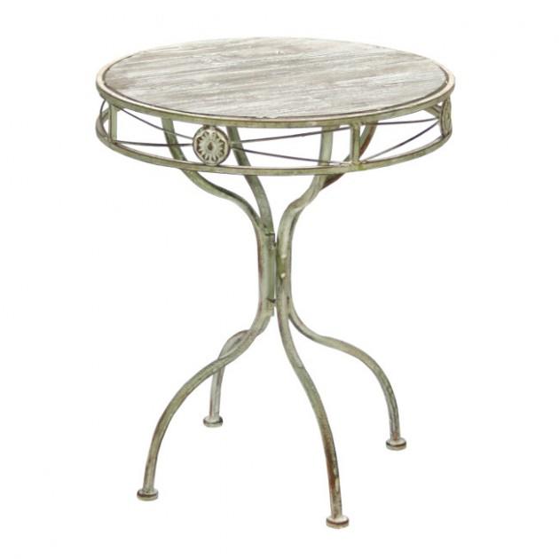 На фото: Допоміжний столик Macy (89325), Допоміжні столики Home4You, каталог, ціна