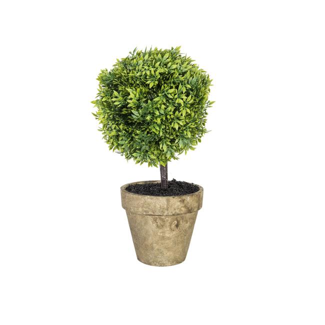 На фото: Штучне дерево Buxus (78005), Штучні квіти Home4You, каталог, ціна