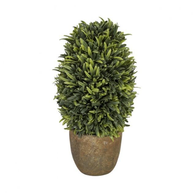 На фото: Штучний кущ Buxus (79776), Штучні квіти Home4You, каталог, ціна