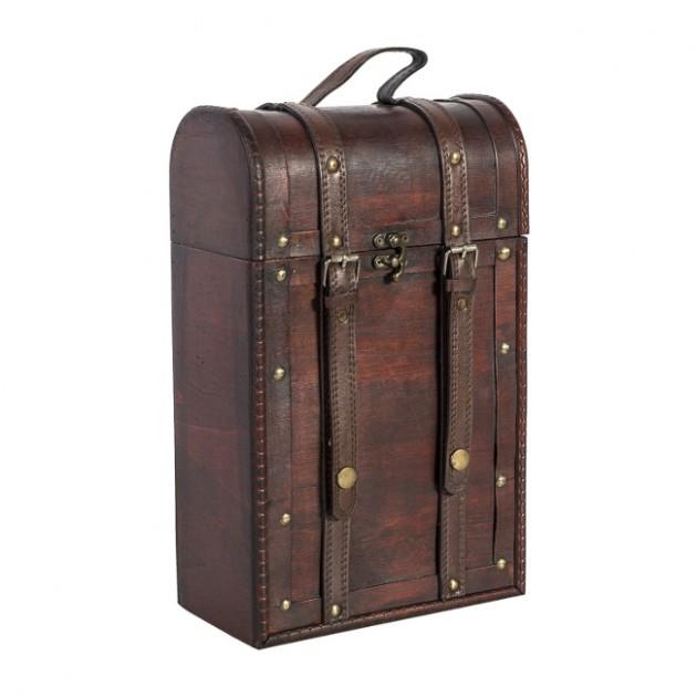 На фото: Коробка для пляшок Bao (80171), Шкатулки і коробки Home4You, каталог, ціна