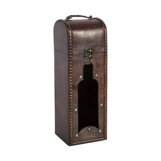 На фото: Коробка для вина Bao (80172), Шкатулки і коробки Home4You, каталог, ціна