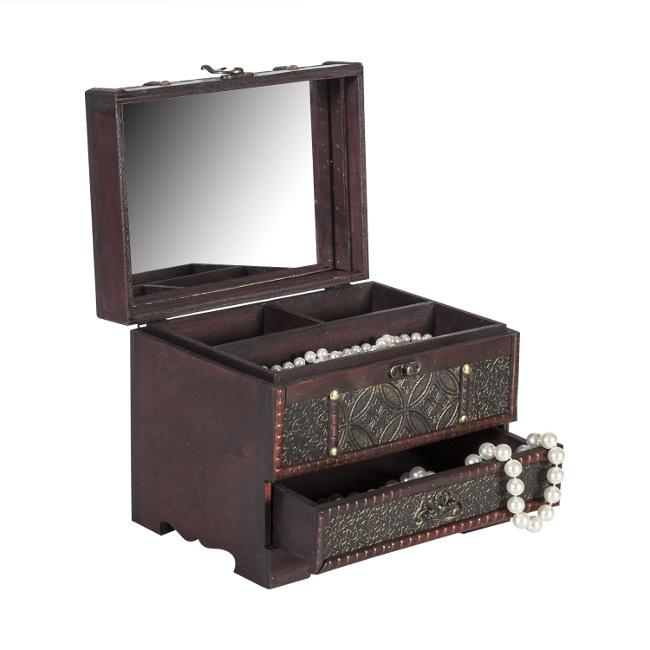 На фото: Скринька для прикрас Bao (80201), Шкатулки і коробки Home4You, каталог, ціна