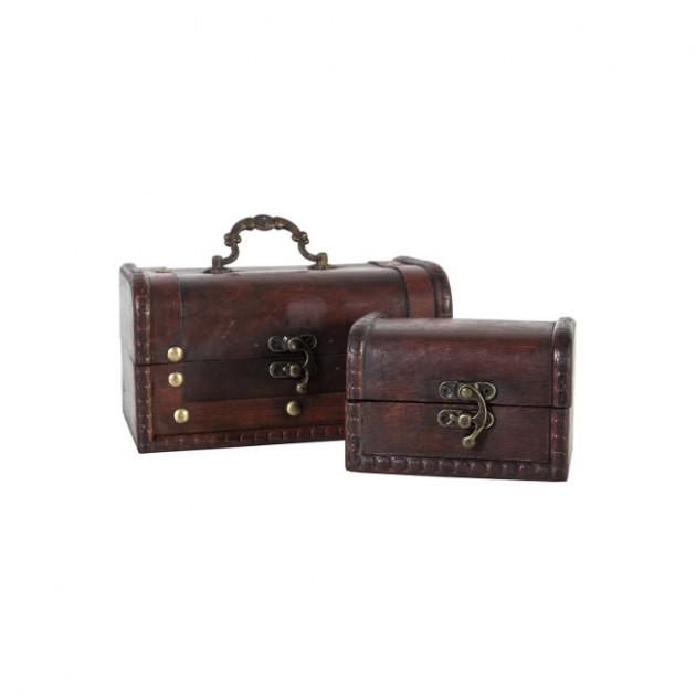 На фото: Набір скриньок Bao (8351), Шкатулки і коробки Home4You, каталог, ціна