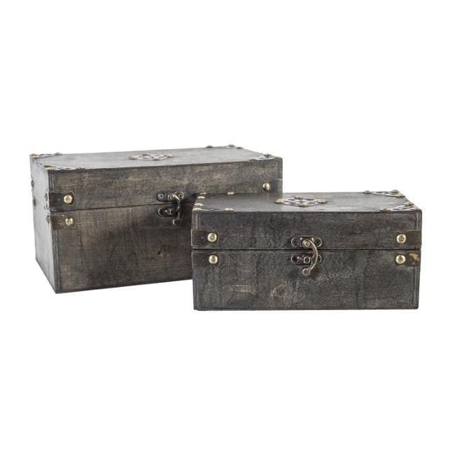 На фото: Набір скриньок Bao (8352), Шкатулки і коробки Home4You, каталог, ціна