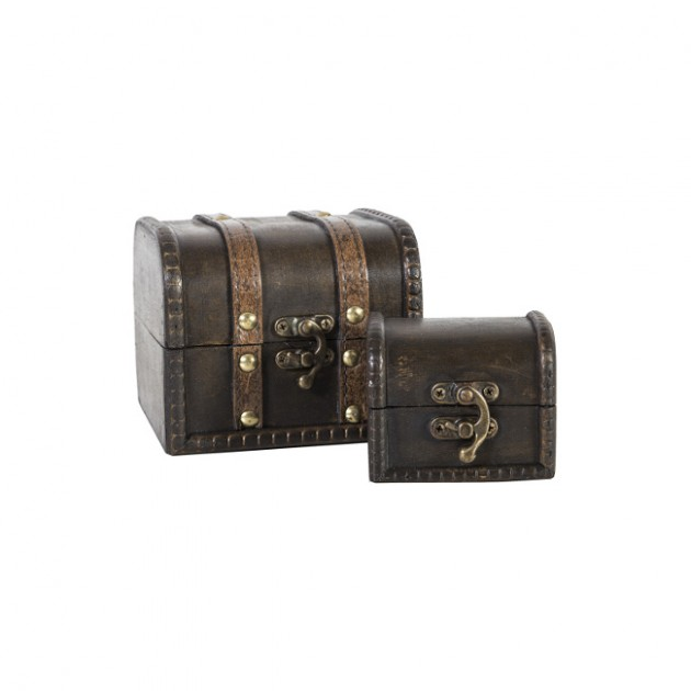 На фото: Набір скриньок Bao (8353), Шкатулки і коробки Home4You, каталог, ціна