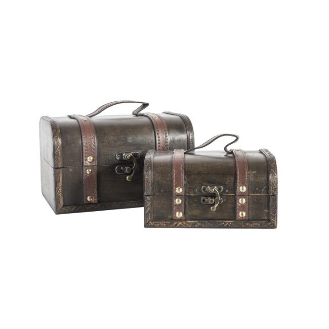 На фото: Набір скриньок Bao (8354), Шкатулки і коробки Home4You, каталог, ціна