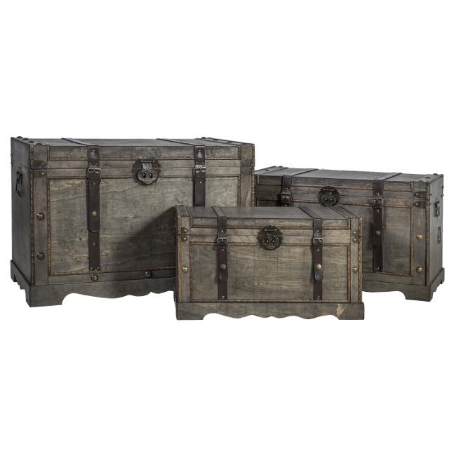 На фото: Набір скринь Bao (8356), Сундуки і великі кошики Home4You, каталог, ціна