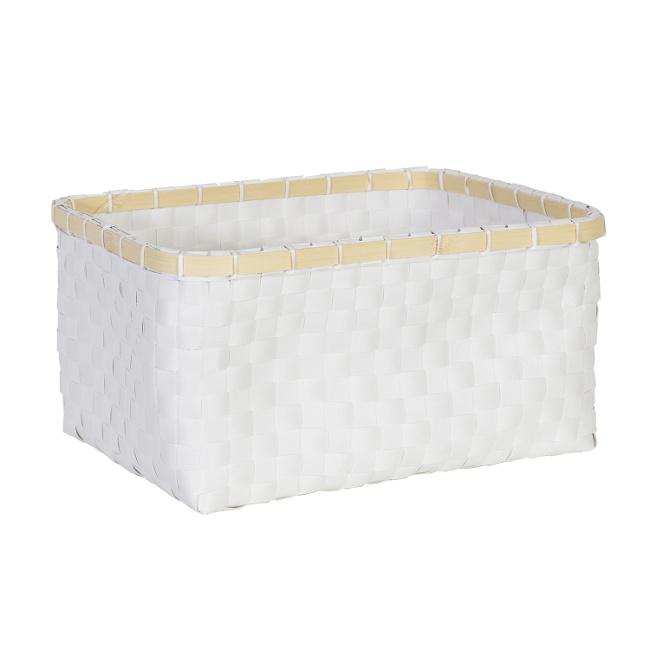На фото: Кошик Lido (83461), Плетені кошики Home4You, каталог, ціна
