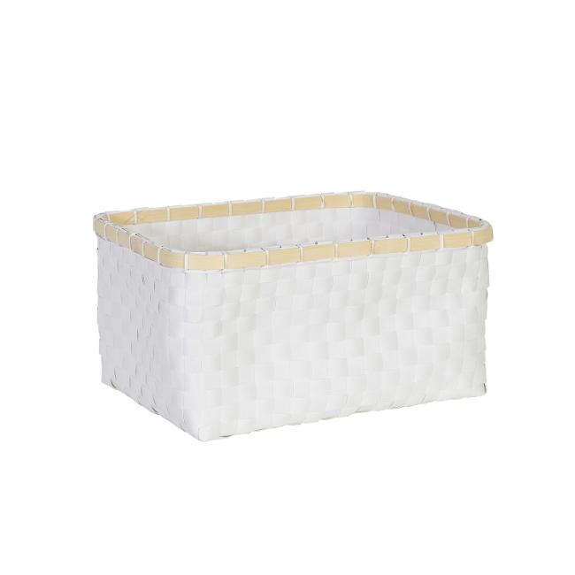 На фото: Кошик Lido (83463), Плетені кошики Home4You, каталог, ціна