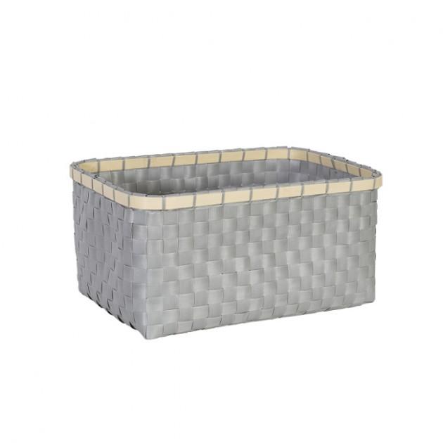 На фото: Кошик Lido (83473), Плетені кошики Home4You, каталог, ціна