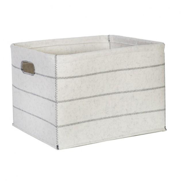 На фото: Коробка Lido (83481), Плетені кошики Home4You, каталог, ціна