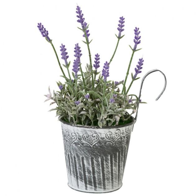 На фото: Лаванда In Garden (76543), Штучні квіти Home4You, каталог, ціна