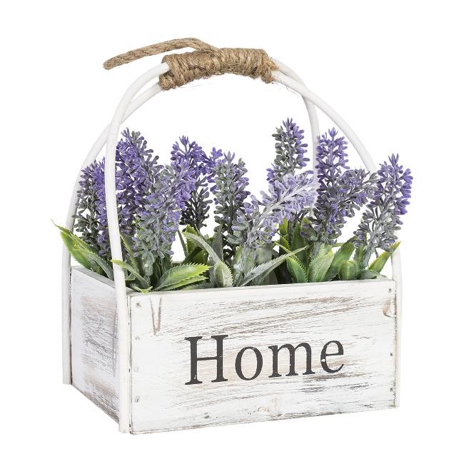 На фото: Лаванда In Garden (78033), Штучні квіти Home4You, каталог, ціна