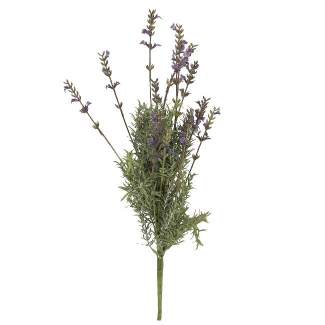 На фото: Лаванда In Garden (79783), Штучні квіти Home4You, каталог, ціна