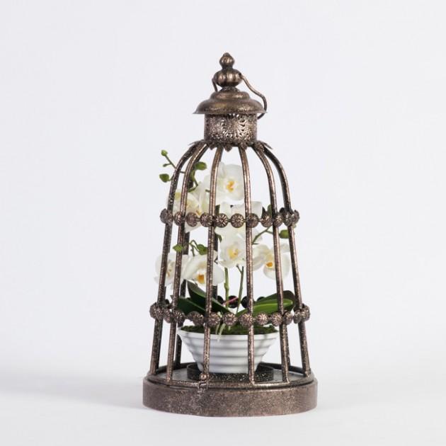 На фото: Підсвічник Vintage (76199), Підсвічники і свічки Home4You, каталог, ціна