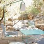 На фото: Світильник Balad Lagoon Blue (362246), Світильник Balad h38 Fermob, каталог, ціна