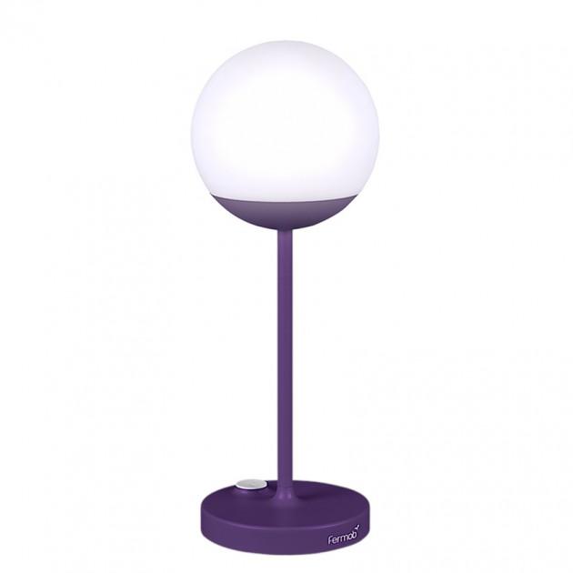 На фото: Світильник Mooon Aubergine (530128), Світильники Mooon! h40 Fermob, каталог, ціна