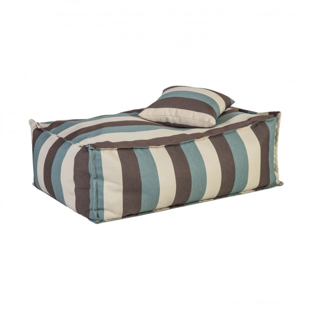 На фото: Напольная подушка Stripe (P0071685), Декоративні подушки Home4You, каталог, ціна