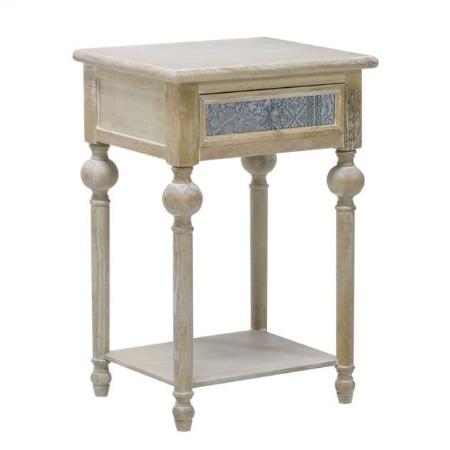 На фото: Столик Ornament (10107), Допоміжні столики Home4You, каталог, ціна