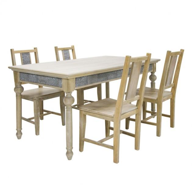 На фото: Обеденный стол Ornament (10108), Обідні столи Home4You, каталог, ціна