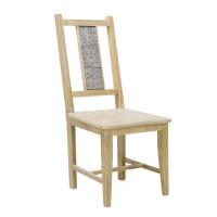 На фото: Обеденный стул из дерева Ornament (10112), Стільці для дому Home4You, каталог, ціна