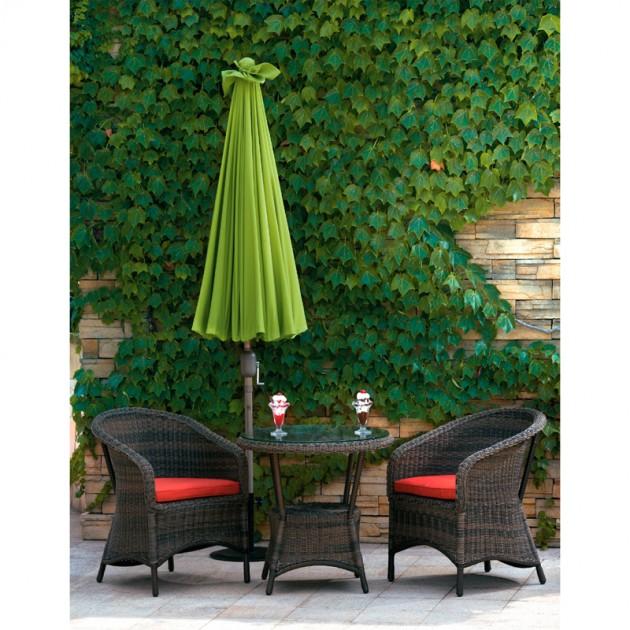 На фото: Парасоля від сонця Shanghai Green (11810), Стандартні парасолі Garden4You, каталог, ціна