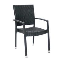 На фото: Столовий комплект Wicker (k11983), Столові комплекти зі штучного ротангу Garden4You, каталог, ціна