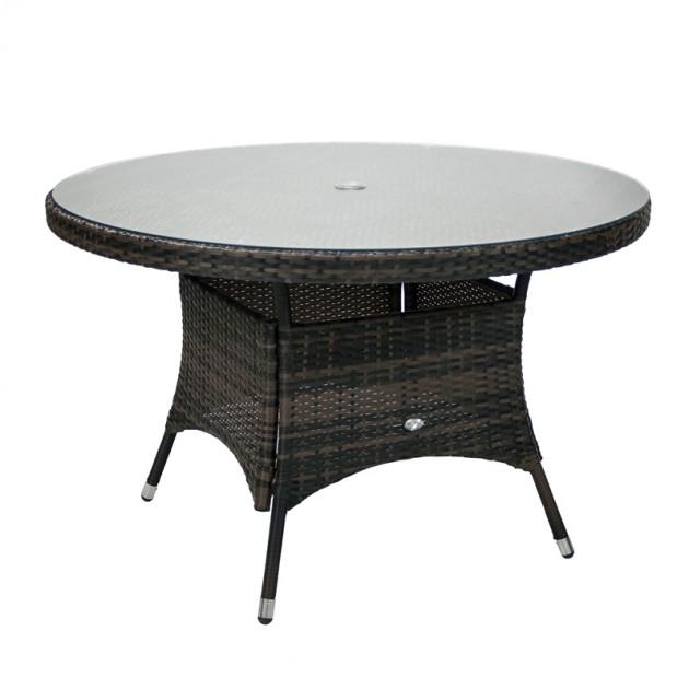 На фото: Столовий комплект Wicker (k11977), Столові комплекти зі штучного ротангу Garden4You, каталог, ціна