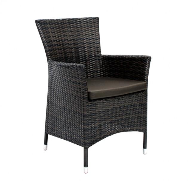 На фото: Столовий комплект Wicker (K11964), Столові комплекти зі штучного ротангу Garden4You, каталог, ціна