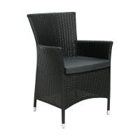 На фото: Столовий комплект Wicker (k13346), Столові комплекти зі штучного ротангу Garden4You, каталог, ціна