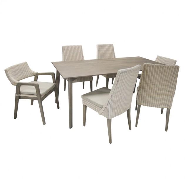 На фото: Обеденный стол Elita (13129), Обідні столи Home4You, каталог, ціна