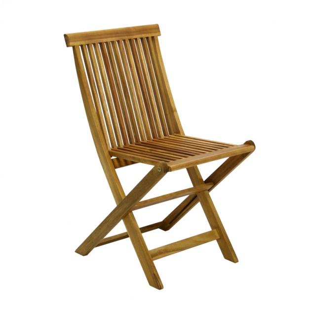 На фото: Стілець Finlay (13181), Дерев'яні стільці Garden4You, каталог, ціна