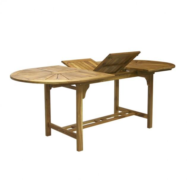 На фото: Стіл Finlay (13183), Дерев'яні столи Garden4You, каталог, ціна