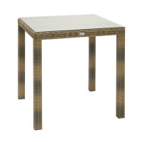 На фото: Столовий комплект Wicker (k13347), Столові комплекти зі штучного ротангу Garden4You, каталог, ціна