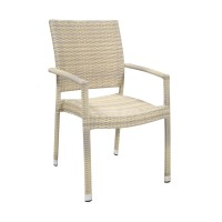 На фото: Столовий комплект Wicker (k11971), Столові комплекти зі штучного ротангу Garden4You, каталог, ціна