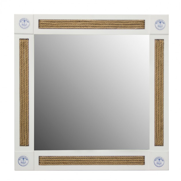 На фото: Настінне дзеркало Ocean (13744), Ширми і дзеркала Home4You, каталог, ціна