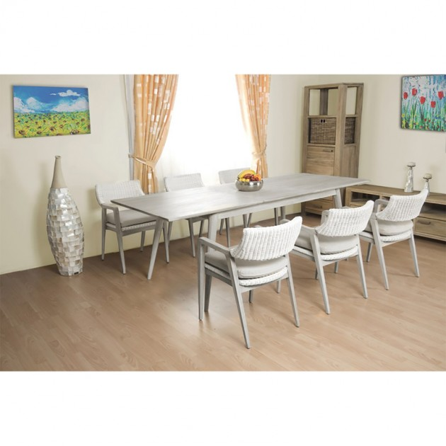 На фото: Стул из натурального ротанга Elita (14048), Стільці для дому Home4You, каталог, ціна