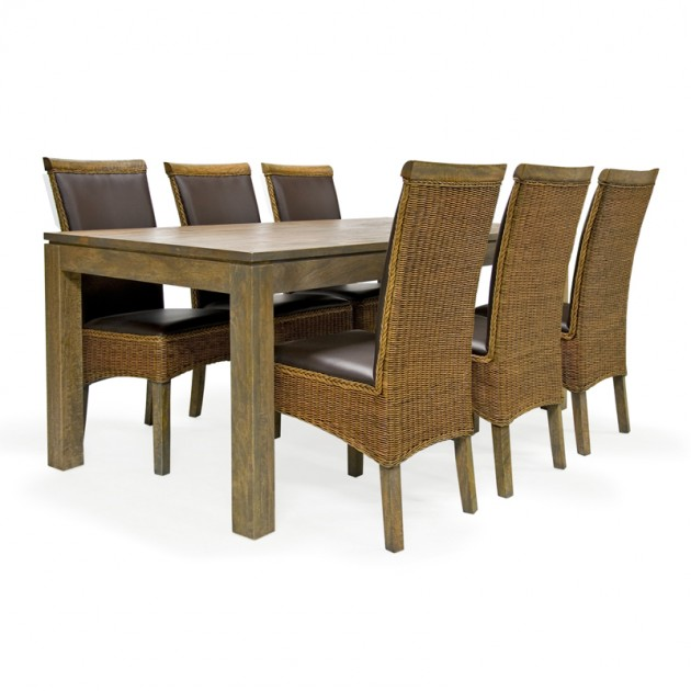 На фото: Обеденный стол Britta (17117), Обідні столи Home4You, каталог, ціна