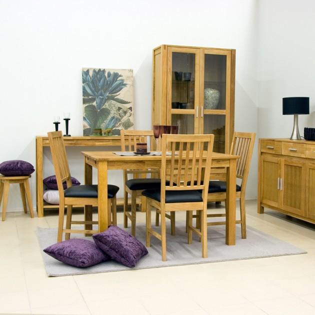 На фото: Стул из дуба Gloucester (19951), Стільці для дому Home4You, каталог, ціна