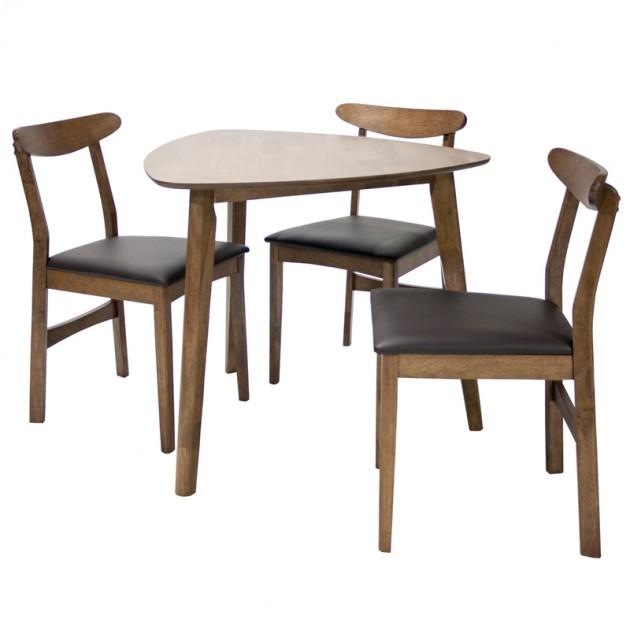 На фото: Комплект Trio (20851), Столові комплекти Home4You, каталог, ціна