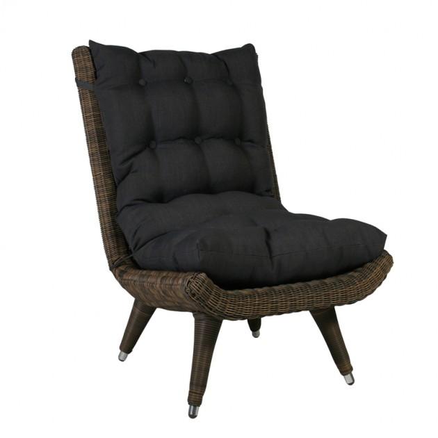 На фото: Крісло Mira (2768), Крісла зі штучного ротангу Garden4You, каталог, ціна