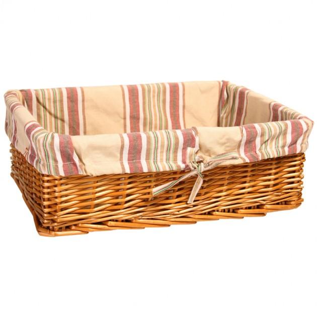 На фото: Корзина Max-3 (61092), Плетені кошики Home4You, каталог, ціна