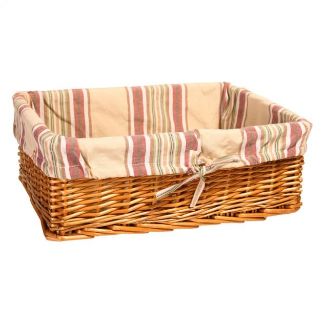 На фото: Корзина Max-4 (61093), Плетені кошики Home4You, каталог, ціна