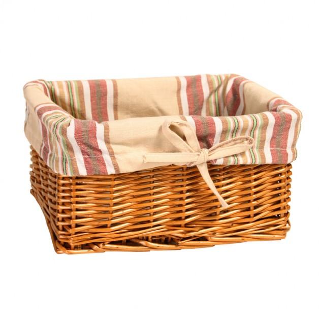 На фото: Корзина Max-5 (61094), Плетені кошики Home4You, каталог, ціна