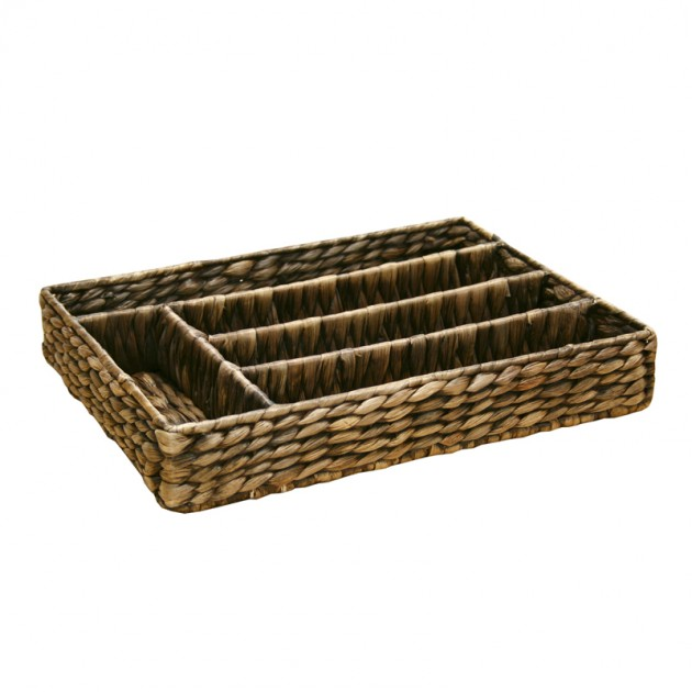 На фото: Корзинка для столовых приборов Cutlery (62424),  Home4You, каталог, ціна