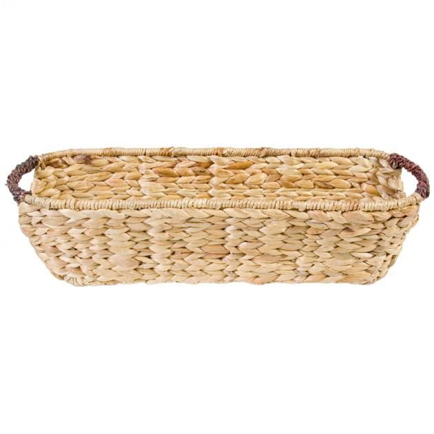 На фото: Корзина овальная (6243), Плетені кошики Home4You, каталог, ціна